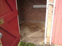 SHED CLEARANCE AFTER
